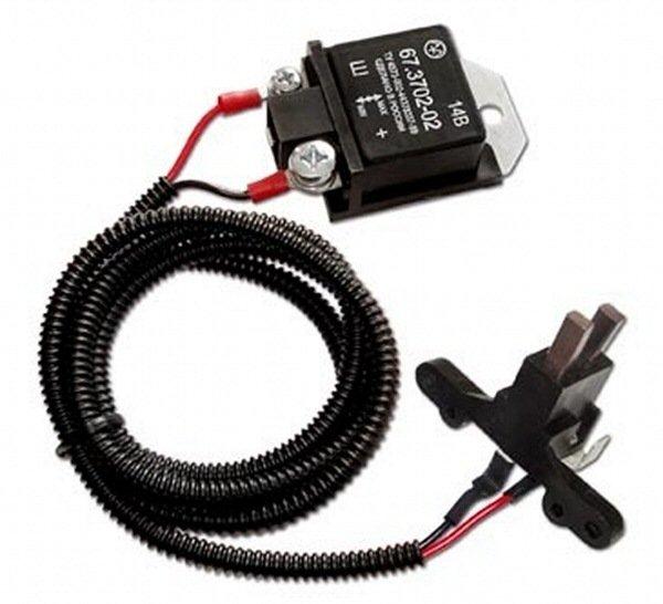 Регулятор напряжения 67.3702-02 для ВАЗ-2110 и ГАЗ с генератором 94.3701 трехуровневый (Энергомаш)